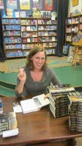 Theresa Levitt at her book signing.