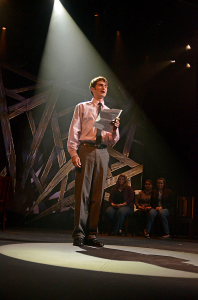Nathan Burke performs in 'The Laramie Project' in the fall. Photo: Courtesy Phillip Waller.