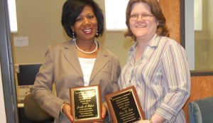Buford and Scott were recognized by SDS for their outstanding service to students with disabilities.