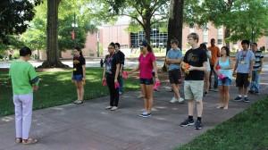 Students participating in the 2014 StarTalk program.