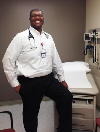 Dr. Haynes (BA biological science '95)