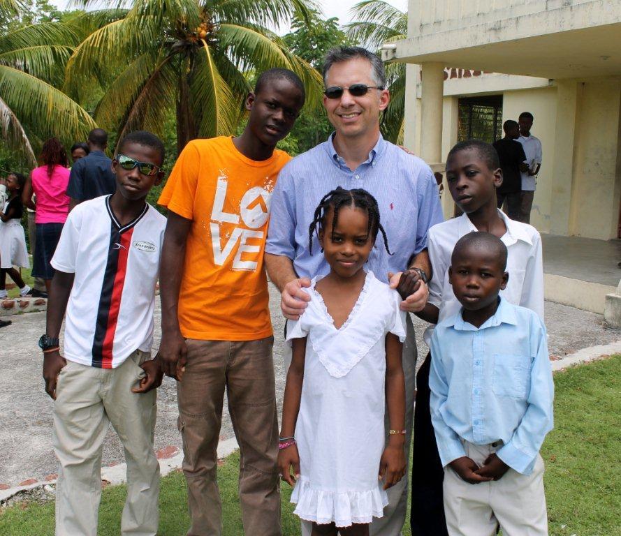 Dr. Primos in Haiti