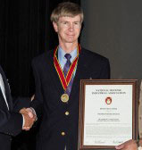 Alumnus Honored by Navy for Science and Technology Achievements