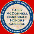 Barksdale Honors College logo