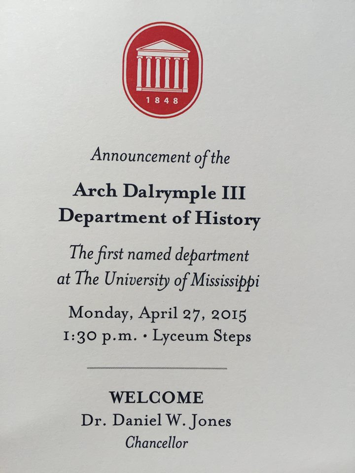 Dalrympleannouncement