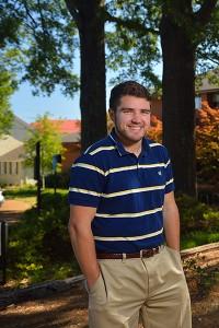 Jordan Troisi. Photo by Robert Jordan/Ole Miss Communications