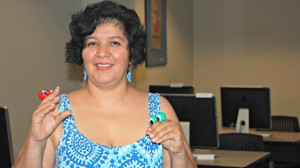 Haydée Silva, tenured professor at Universidad Nacional Autonoma de Mexico in Mexico City, led a joint workshop at the University of Mississippi and the French Embassy, which was held at UM.