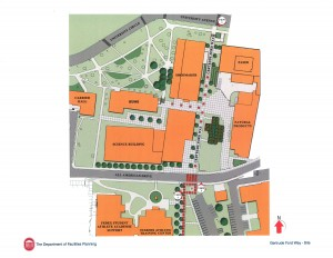 The new building will be in the heart of the university's Science District.