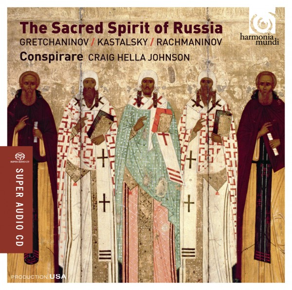 The Sacred Spirit of Russia is the 2015 Grammy Winner Best Choral Performance