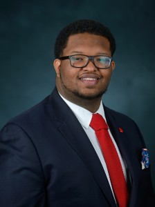 Justavian Tillman. Photo by Thomas Graning/Ole Miss Communications