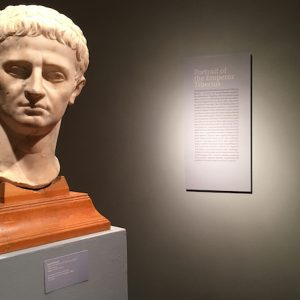 'Gods and Men' features artifacts from the UM Museum's David M. Robinson permanent collection, such as this bust of Emperor Tiberius.