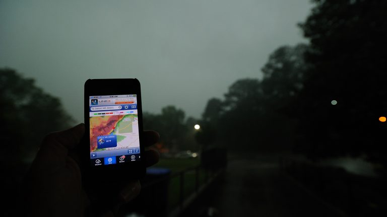 Mississippi's tornado season includes March, April and November. Photo by Robert Jordan UM Brand Photography Services