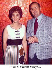 Ann Berryhill (at left with husband Farrell