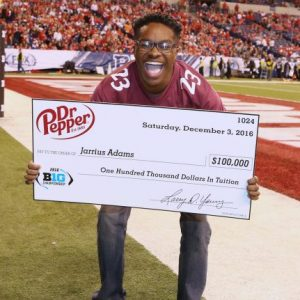 VIDEO: UM Student Passes His Way to a $100K Scholarship