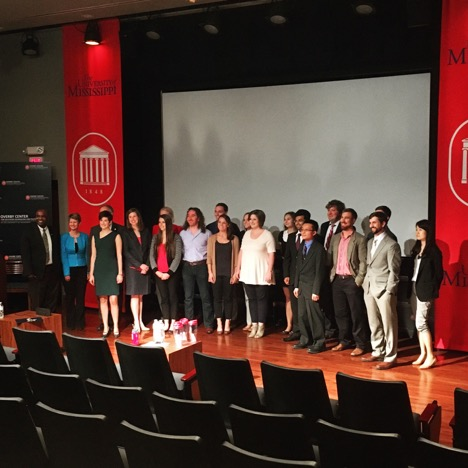 The University of Mississippi 3 Minute Thesis 2017