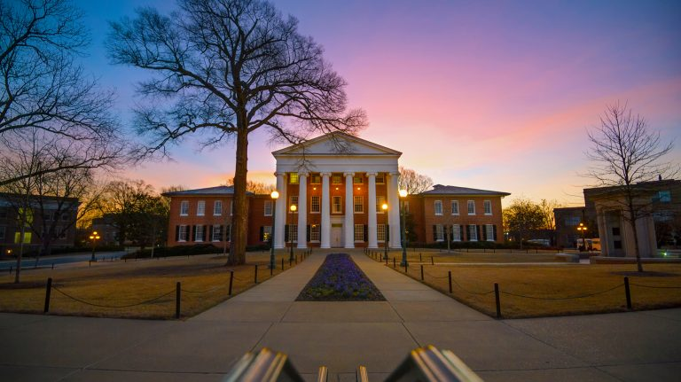The University of Mississippi is ranked among the nation's best public institutions in several third-party evaluations of academic and research performance. Photo by Robert Jordan/Ole Miss Communications