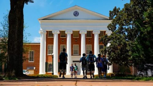 Private support for UM topped $100 million for the sixth consecutive year, providing needed funds for student scholarships, faculty support and facility upgrades. Photo by Robert Jordan/Ole Miss Communications