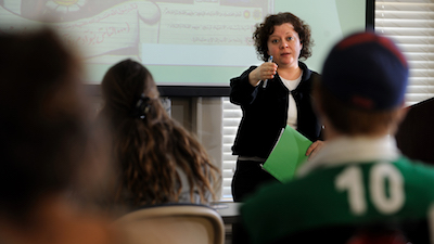 Professor Mary Thurlkill will open her religion class to community members this fall. Photo by Robert Jordan Ole Miss Communications
