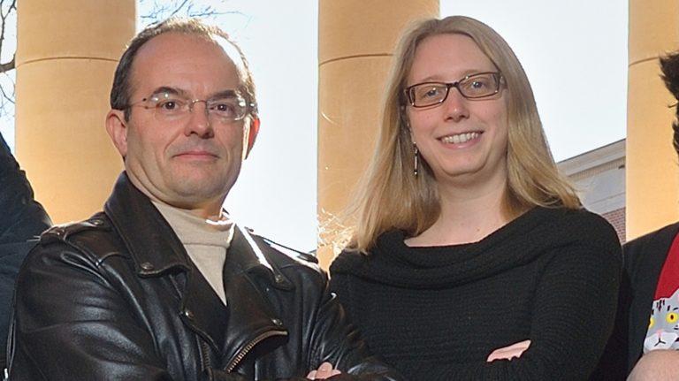 Marco Cavaglia and Katherine Dooley