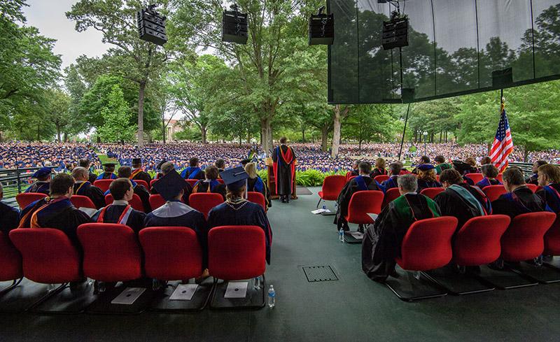 graduation in the grove