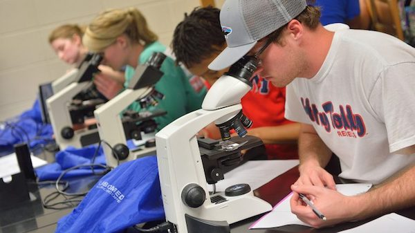 UM has climbed steadily in the overall ranking of the 800 best research universities in the world, moving up nine spots from a year ago. Photo by Kevin Bain/Ole Miss Communications