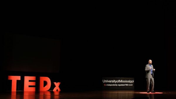 UM hosts its third TEDxUniversityofMississippi conference Feb. 3 at the Gertrude C. Ford Center for the Performing Arts. Submitted photo