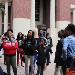 High school students from the Mississippi Delta visit the UM campus to learn about health professions and health-related research as part of the Tri-County Workforce Alliance partnership with the Center for Population Studies.