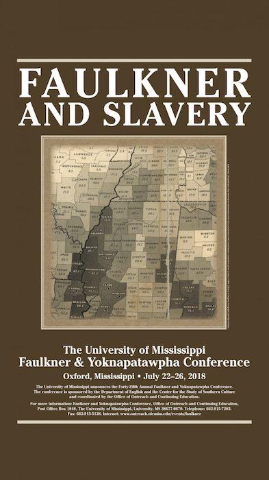 2018 Faulkner Conference poster