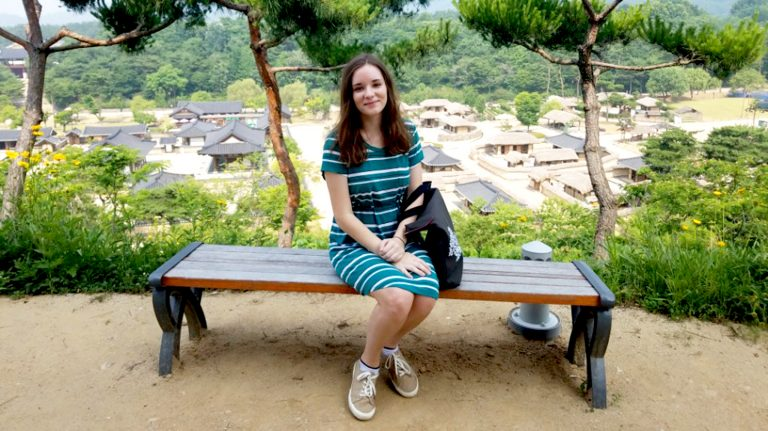 Biloxi native Olivia George is studying the Korean language and culture this summer in South Korea.