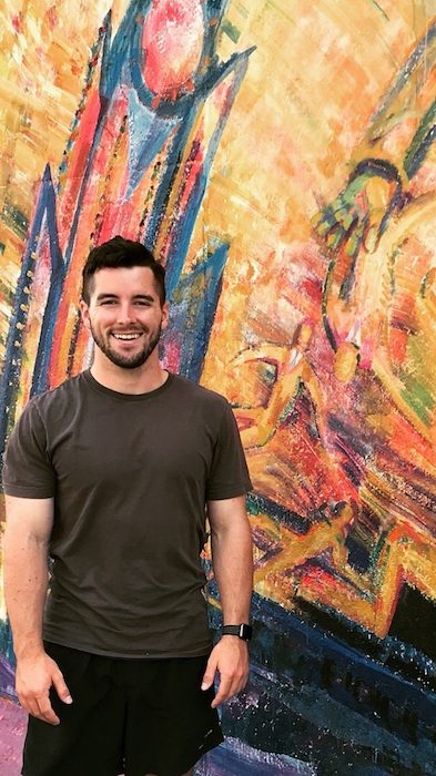 Zac Herring, a senior at the Croft Institute majoring in international studies, German and economics, visited the Berlin Wall during his studies this year at the University of Cologne in Germany.