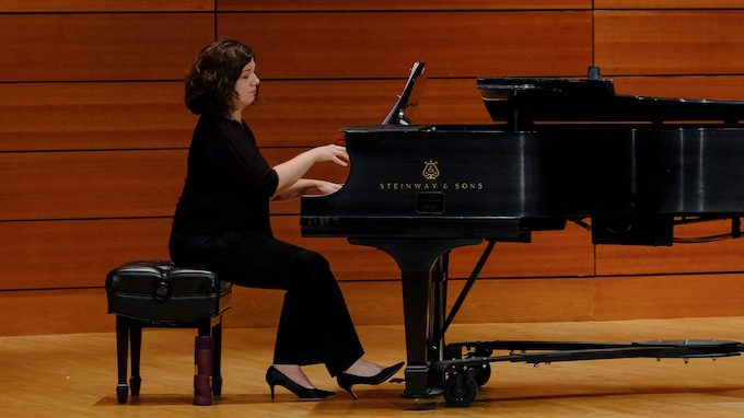 Amanda Johnston, UM associate professor of music, is set to perform songs of love with mezzo-soprano Tracelyn Gesteland on Tuesday (Jan. 29) at Nutt Auditorium. Photo by Robert Jordan