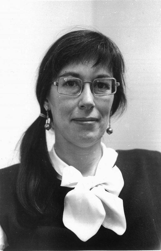 Lucy Turnbull, in a faculty photo from the mid-1960s
