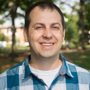 Jonah Jurss, assistant professor of chemistry & biochemistry
