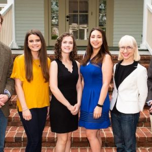 UM students involved in the Summer Undergraduate Research Experience program this summer are (from left) John Hendershot, Madison Dacus, Rachael Pace, Madison Morrow, Jacqueline Knirnschild and Joshua Smith. Photo by Bill Dabney