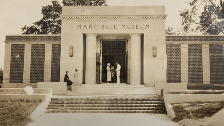 The museum project was bolstered by funding from the Works Project Administration, which established it as one of two federal arts centers in Mississippi. The city also provided funding, and the museum was dedicated as the Oxford Art Center but was called the Mary Buie Museum from 1942 to 1997. The city operated it for many years, but it was officially deeded to the university in 1974.