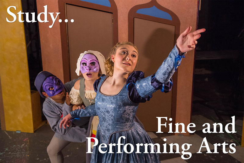 Study the Fine and Performing Arts