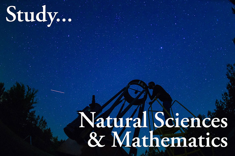Study the Natural Sciences and Mathematics