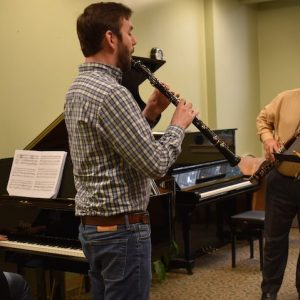 Professor Uses Concert to Shine Light on New Faculty