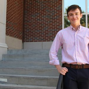 Ethan Edmondson's scholarship memorializes Ole Miss student-athlete Joey Embry.
