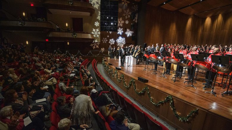 The University of Mississippi Department of Music will offer its 2019 Holiday Concert at 7:30 p.m. Dec. 5 at the Gertrude C. Ford Center for the Performing Arts. Photo by Thomas Graning/Ole Miss