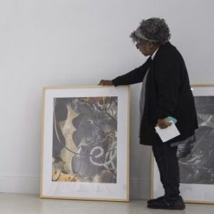 'Lost and Found' Collage Prints on Display at Meek Hall