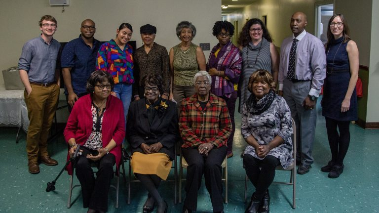Members of Jessie Wilkersons' Southern Studies 560 class helped collect oral histories from several women as part of the Black Families of Yalobusha County Oral History Project. Five of the students will discuss their work Feb. 19 as part of the SouthTalks series.