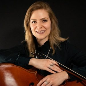 UM instructor Christine Kralik is to perform a cello recital Monday evening (Feb. 24) in Nutt Auditorium. Submitted photo