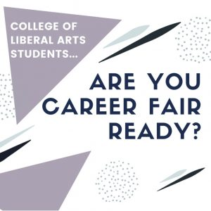 College of Liberal Arts Career Fair and Expo Coming April 16