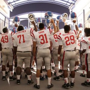 'It's Time,' which tells the story of Ole Miss football player Chucky Mullins, premieres at the Oxford Film Festival, which begins March 18 and features screenings of 222 films and more than 100 events over five days. Photo courtesy Oxford Film Festival