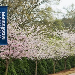 The university will host a live, virtual celebratory event for graduates, family and friends at noon Saturday (May 9). Photo by Kevin Bain/Ole Miss Digital Imaging Services