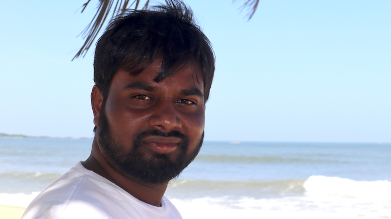 Praveen Kolimi, a doctoral student in pharmaceutical sciences, is using his grant to continue his research into the topical application of itraconazole in skin cancer treatment. Submitted photo
