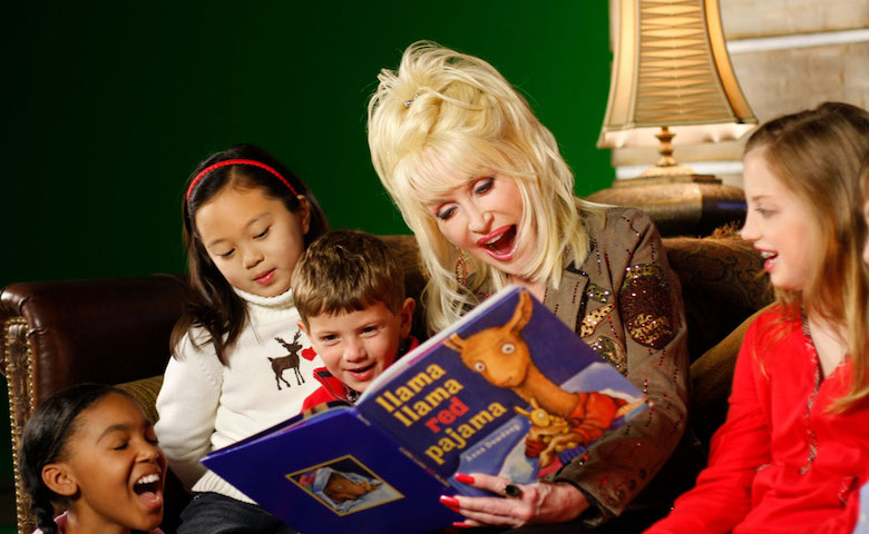 The centerpiece of Dolly Parton's philanthropy is her Imagination Library, which has provided over 140 million books to children around the world.