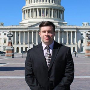 Kaleb Digby, a 2017 UM graduate, has been dedicated to serving his country since his freshman year at Ole Miss. He works for the U.S. Army and on Capitol Hill. Submitted photo