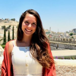 Charlotte Armistead, the University of Mississippi's first recipient of a prestigious Rangel Graduate Fellowship, has studied in the Middle East and has held several internships in the region. Submitted photo